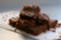 gluten free CHOCOLATE HAZLENUT BROWNIES