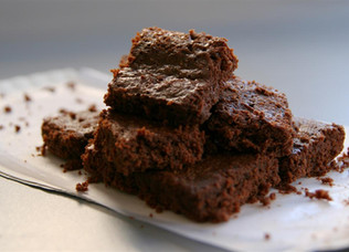 The BEST Nutella Protein Brownies