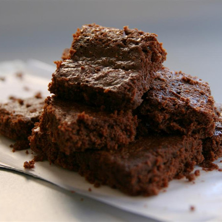 Fudgy Coconut Oil Brownies Bites
