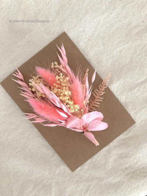 Carte fleurie Pénélope