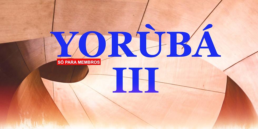 Yorubá Cultura e Língua III