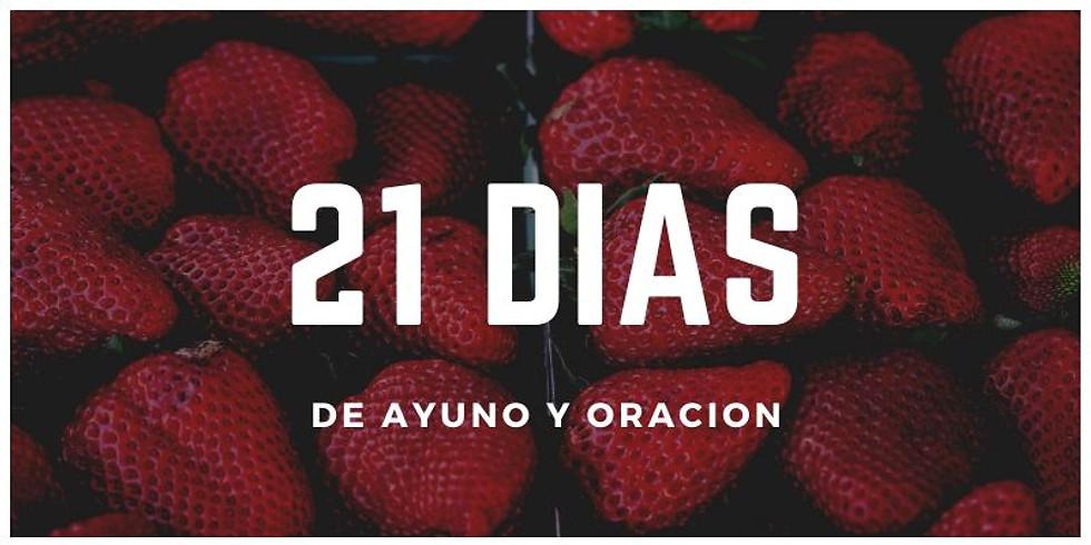 21 Días de Ayuno y Oración