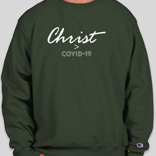 Christ > Covid sweater