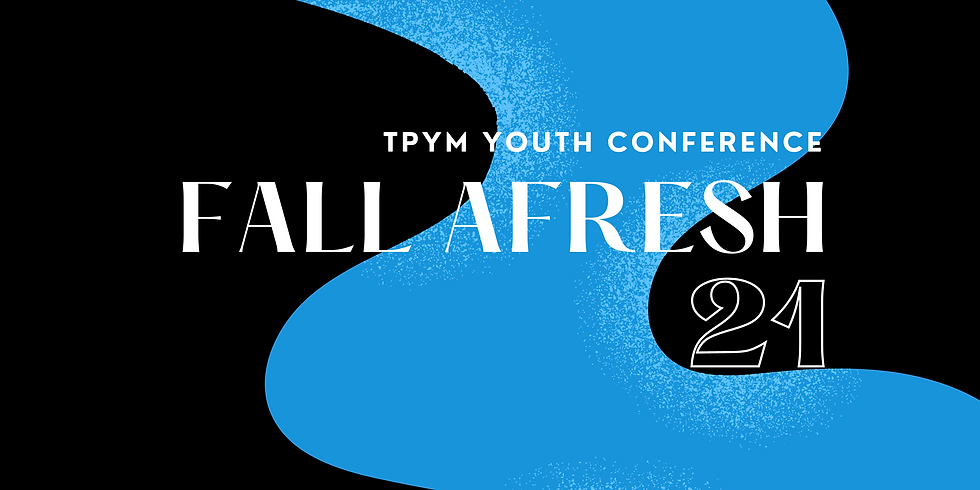 Fall Afresh Youth Conference 2021