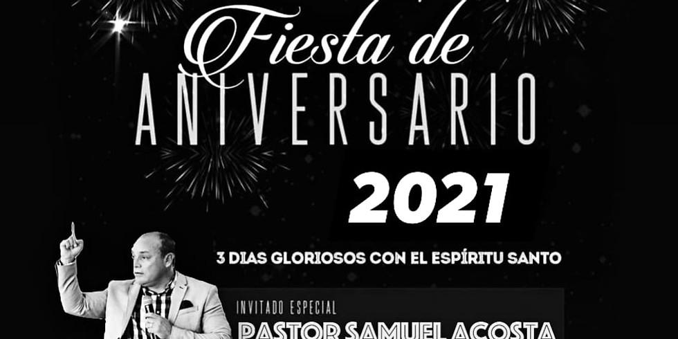 Fiesta de Aniversario 2021