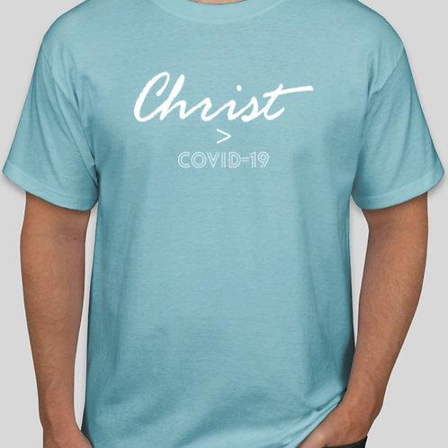Christ>Covid T-shirt