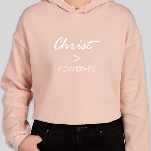 Christ>Covid Hoodie