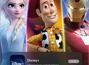 Problemer med at logge på Disney+