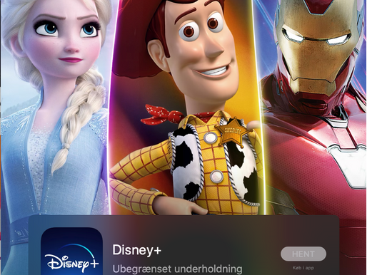Problemer med at logge på Disney+