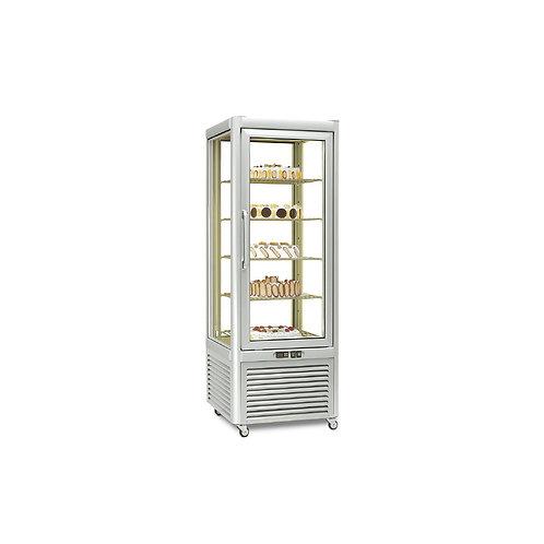 Armario 4 caras de cristal pastelería Eurofred PRISMA 400 BT