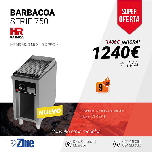 BARBACOA SERIE 750 B7504E