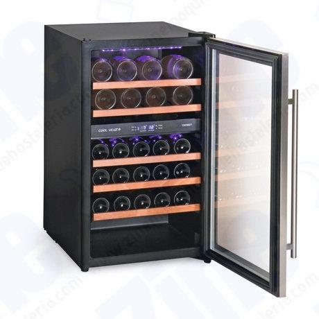 Armario expositor vino bitemperatura Cool Head CW 36 DT