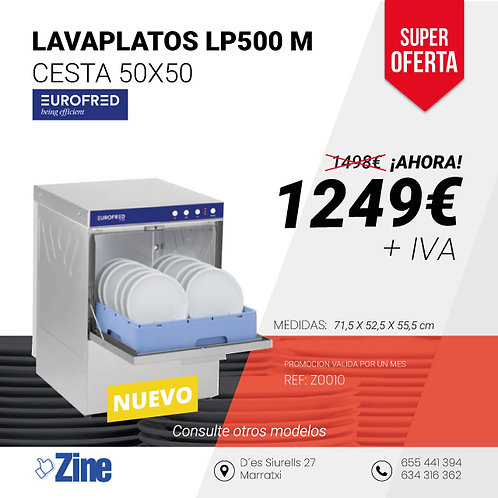 LAVAPLATOS EUROFRED LP500 M
