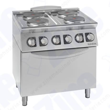 Cocina Unika 700 Giorik CE74TE eléctrica