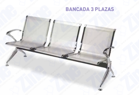 Bancada 3 Plazas M700