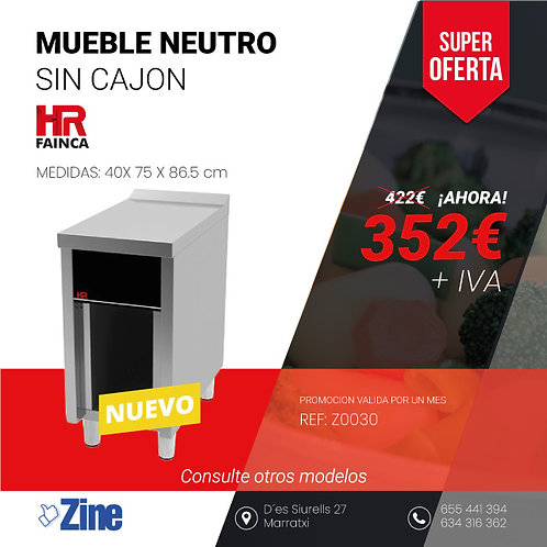 MUEBLE NEUTRO SERIE 750 CNS7504E