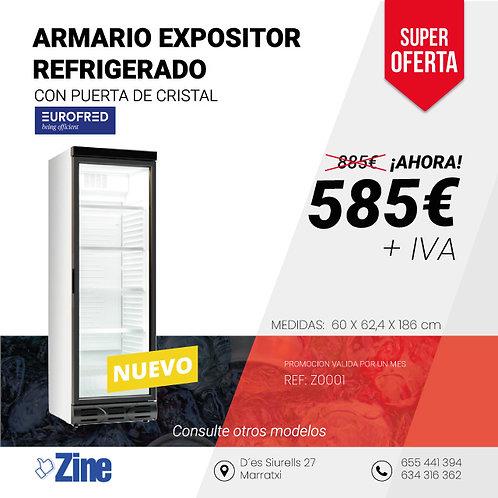 ARMARIO EXPOSITOR D372 SC M4 EUROFRED