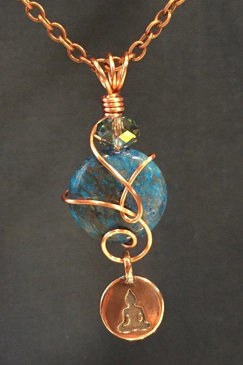 Buddha (Copper) Pendant Necklace