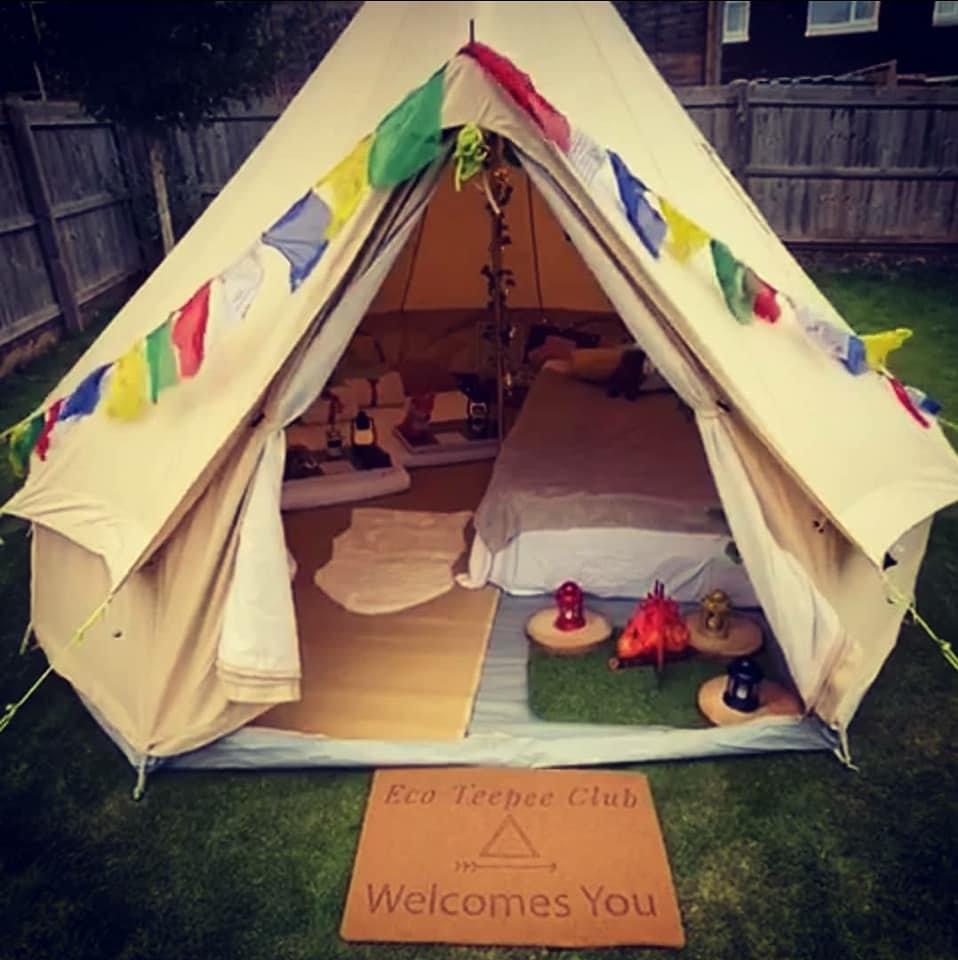 Outdoor 4m Bell Tent