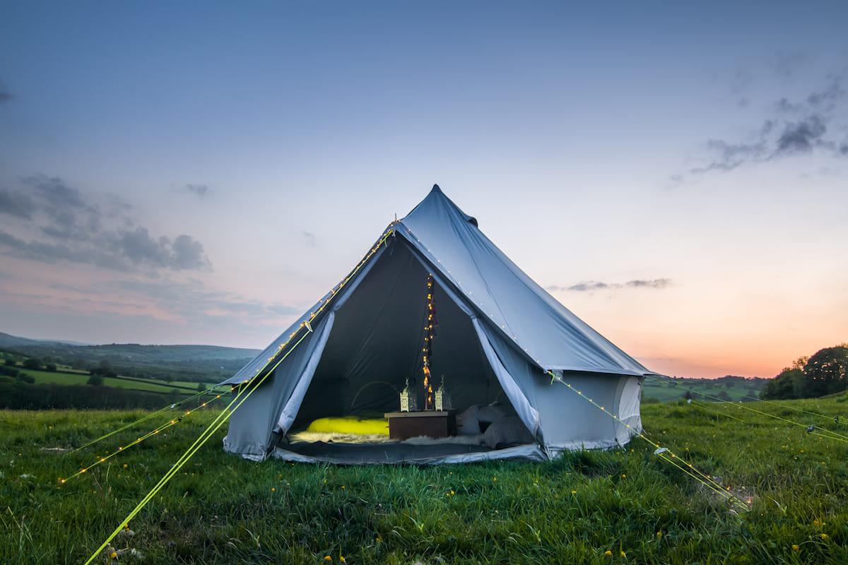 Outdoor 6m Bell Tent