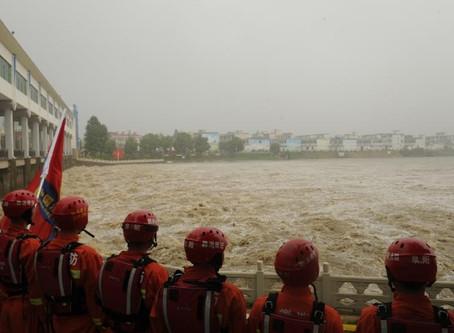 Overstromingen in China en de driekloven dam.