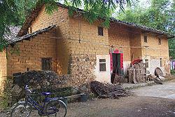 Een rondleiding in een traditioneel Hakka huis.