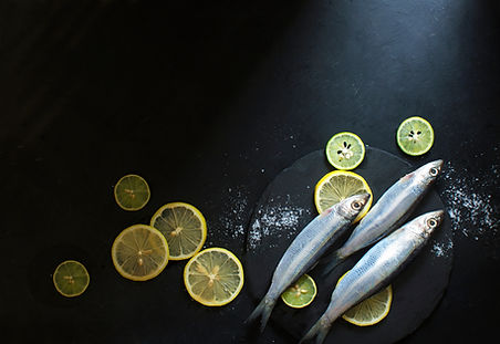魚とレモン