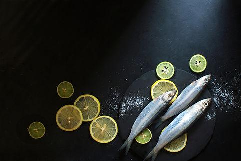 Fisch und Zitronen