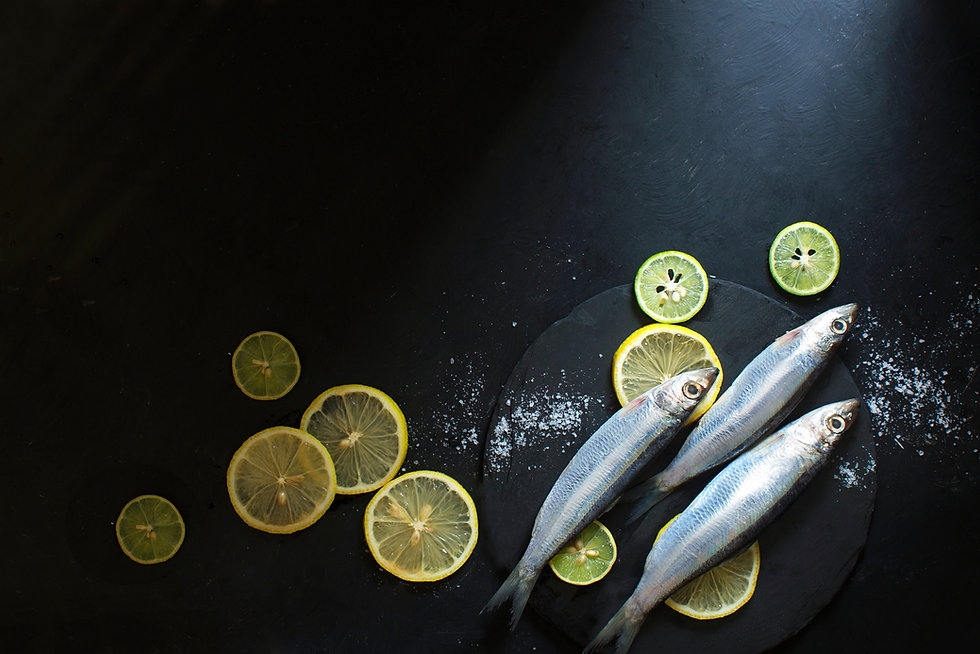 Fish and Lemons