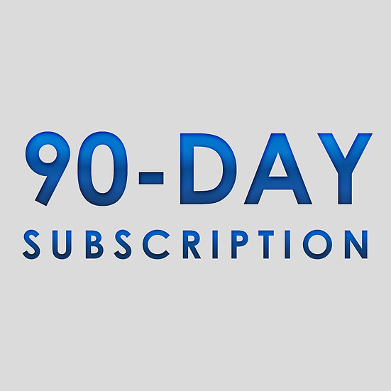 90 Day Subscription Plan