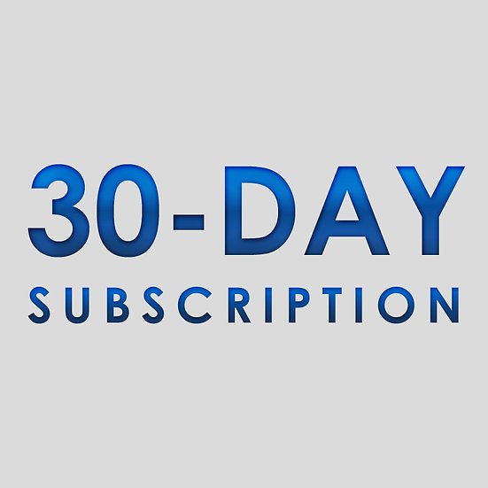 30 Day Subscription Plan