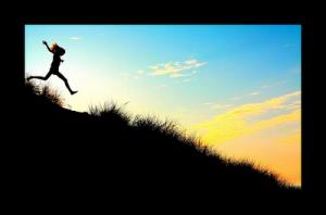 running_downhill