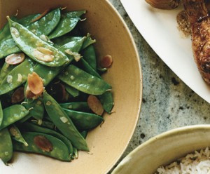 A quick and easy buy simple way to switch up snow peas.