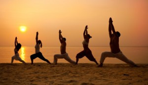 Yoga For All at Sunset