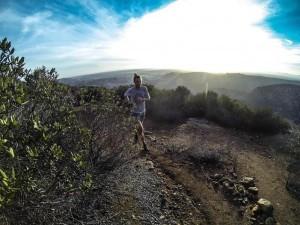 Peterson on Fleek on a Trail