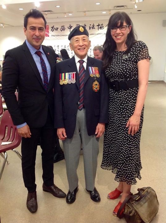 Sir_Howe_Lee_–_President_Emeritus_of_Chinese_Canadian_Military_Meseum_&_Ms._Andrea_Reimer_Councillor