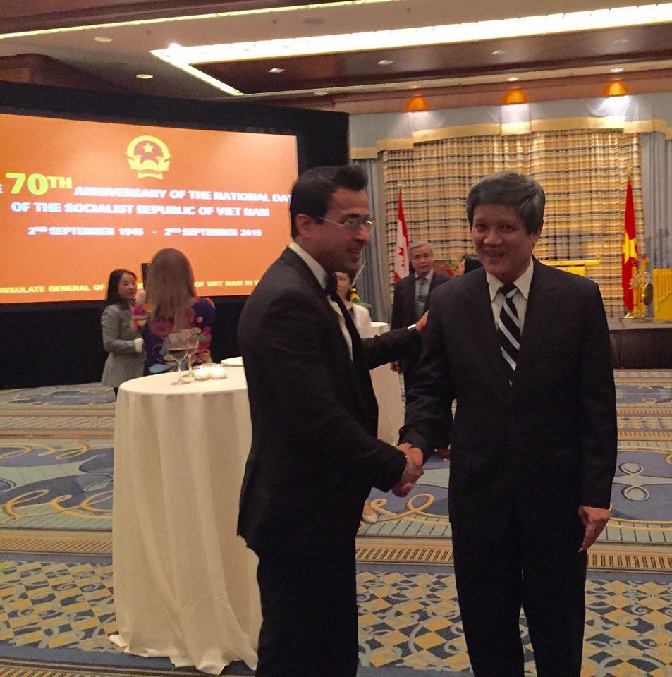 Consulate of Vietnam head