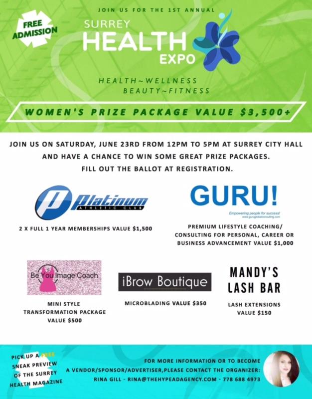 GURU! Sponsor of Surrey Health Expo
