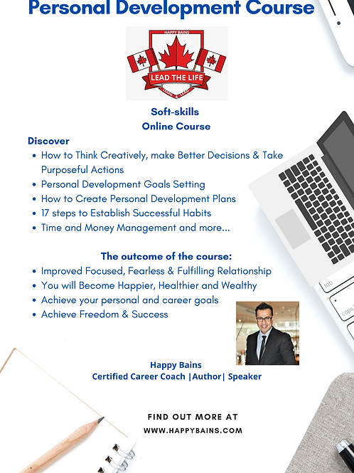 Online - Personal Development Course