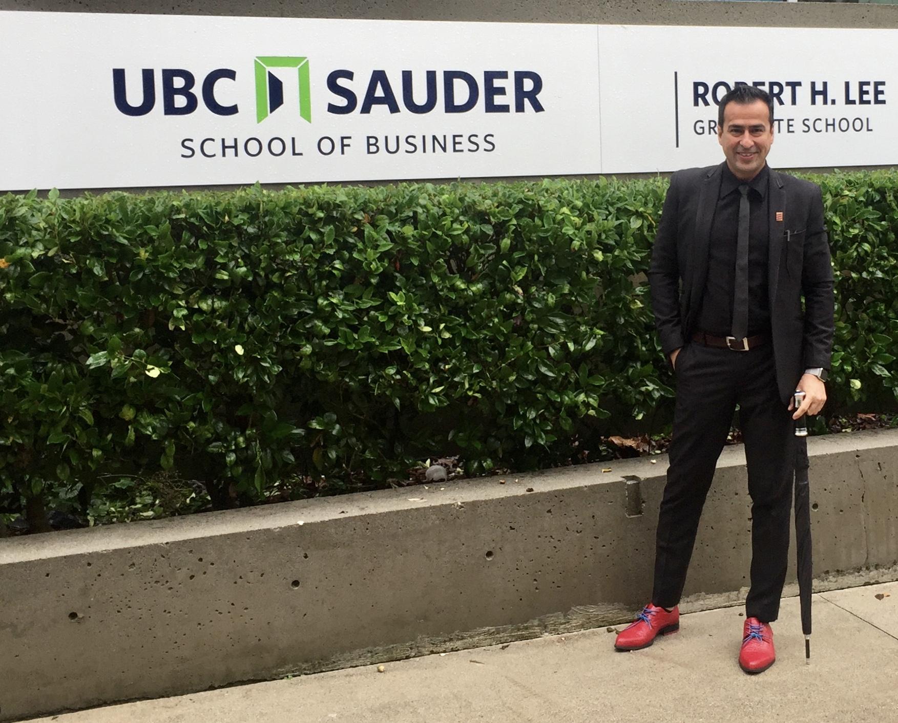 Judge for UBC Sauder School Of Business
