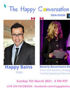 Beverly Bevermann king & Happy Bains