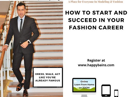 How To Start & Succeed in Fashion  Career