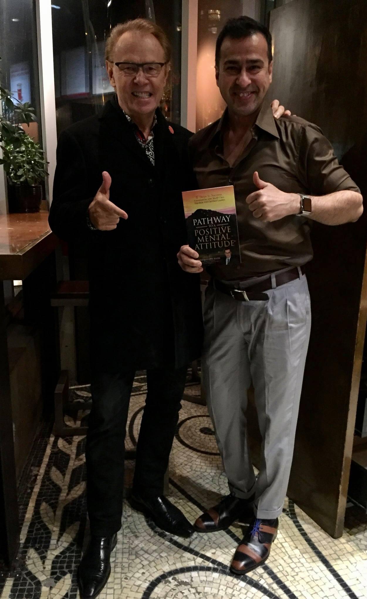 With Mr Harvey Conner philanthropist