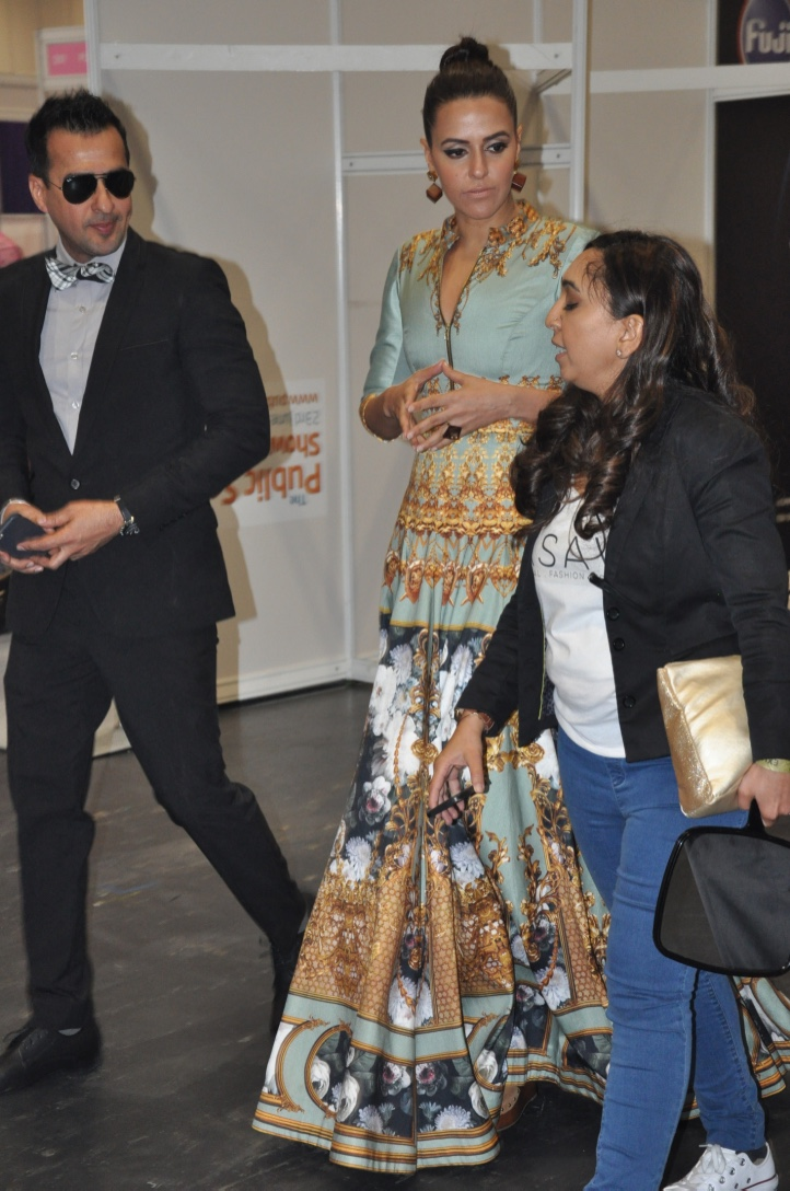 London fashion Show, Overseas Manager of Bollywood Actress Neha Dhupia