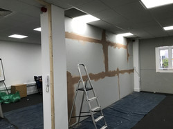 Partition Wall before