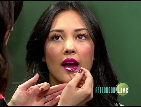 Afternoon Live KATU - Kissable Lips for Valentine's Day