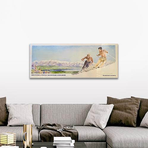 """""""Ski Congress"""" Commemorative Poster"""