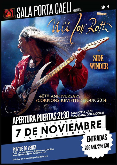 ULI JON ROTH European Tour