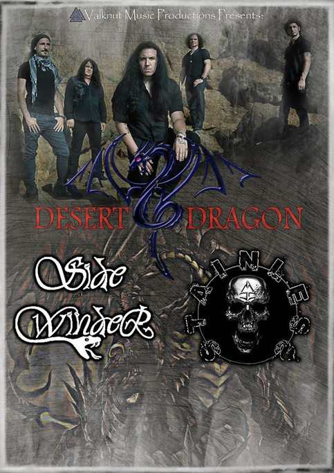 Show with Desert Dragpn (USA)