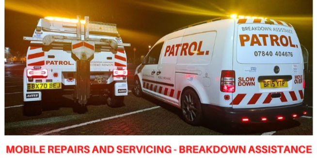 patrol mobile mechanic and breakdown recovery east sussex and west kent